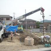 乾式柱状改良工事